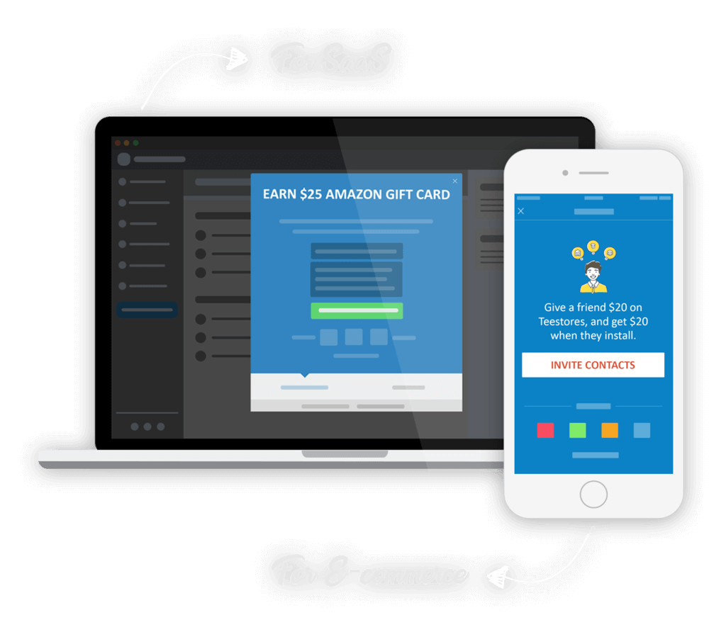 Referral Program Software for SaaS and Mobile apps
